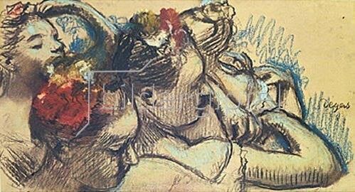 Edgar Degas: Tänzerinnen. 1899