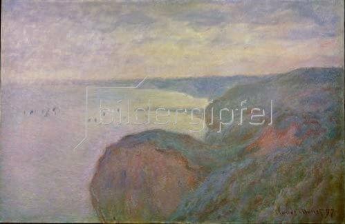 Claude Monet: Steilküste bei Dieppe. 1897