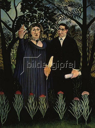 Henri Rousseau: Der Poet und seine Muse (G. Apollinaire und M. Laurencin). 1909