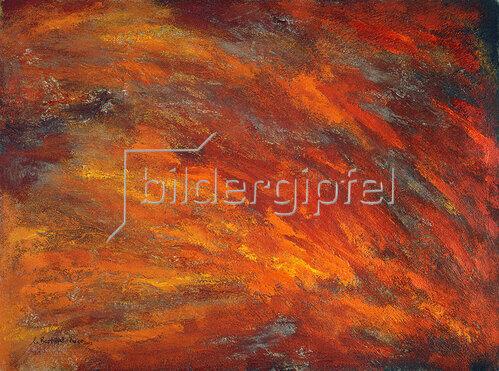 Annette Bartusch-Goger: Element Feuer (Regenwald). 2001