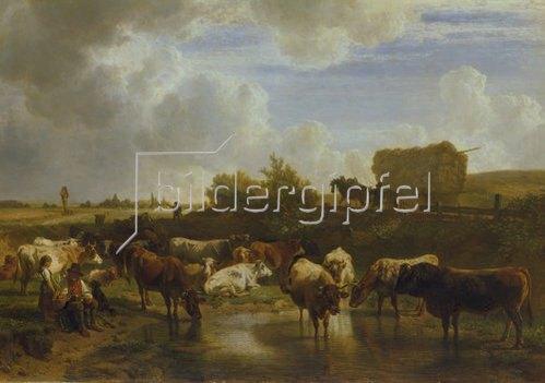 Johann Friedrich Voltz: Mittagsrast