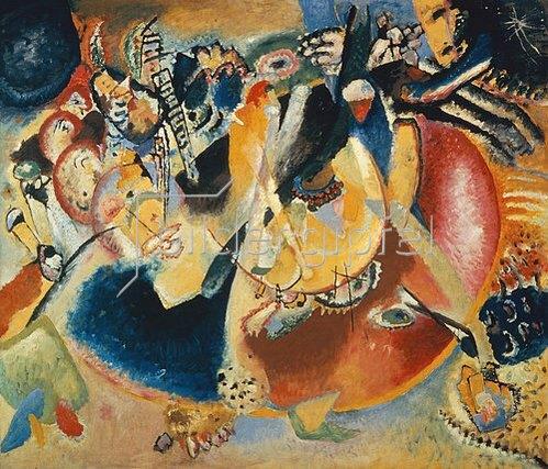Wassily Kandinsky: Improvisation mit kalten Formen. 1914