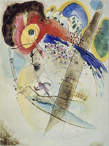 Wassily Kandinsky: Exotische Vögel. 1915.