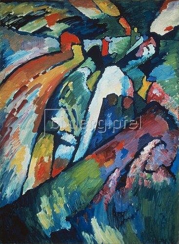 Wassily Kandinsky: Improvisation 7. 1910