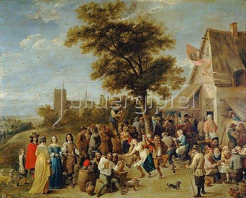 David Teniers: Dörfliches Fest (Bauernfest). 1637