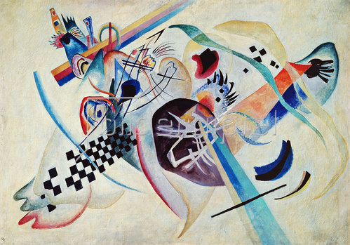 Wassily Kandinsky: Komposition Nr. 224 (Auf Weiss I). 1920