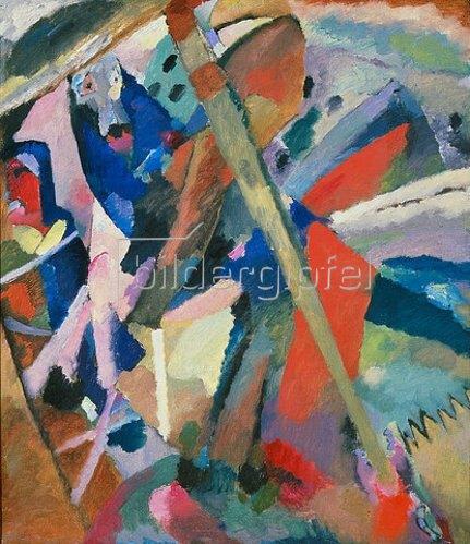 Wassily Kandinsky: Der Heilige Georg. 1911