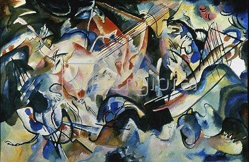 Wassily Kandinsky: Komposition VI., 1913