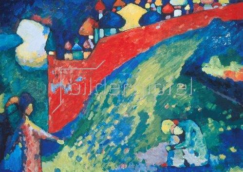 Wassily Kandinsky: Kuppeln. 1909.