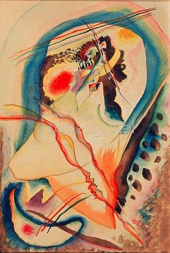 Wassily Kandinsky: Ohne Titel. 1915