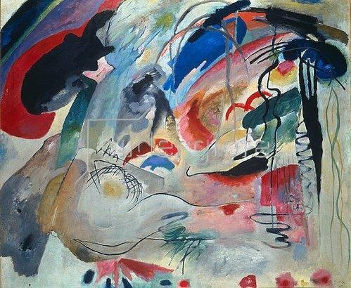 Wassily Kandinsky: Improvisation 34. 1913