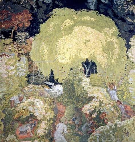 Pierre Bonnard: Herbst (Obstpflücker). 1912.