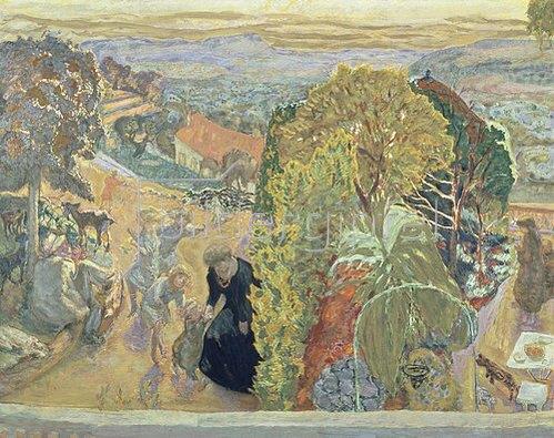 Pierre Bonnard: Im Sommer. Um 1912.