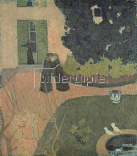 Maurice Denis: Der Besuch. Um 1890.