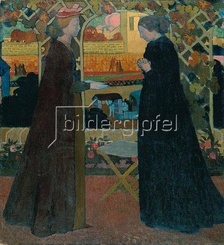 Maurice Denis: Der Besuch. 1894.