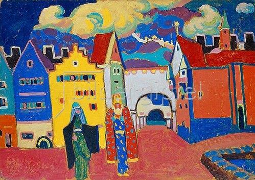Alexej von Jawlensky: Orientalische Stadt. 1908.
