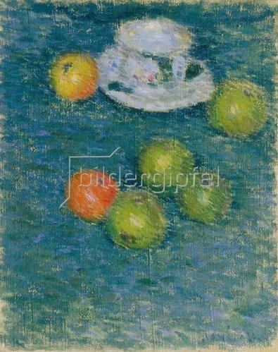 Alexej von Jawlensky: Äpfel und Tasse. Um 1903