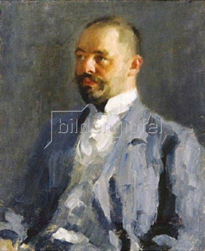 Alexej von Jawlensky: Bildnis von Dimitrij, dem Bruder des Künstlers. Um 1898.