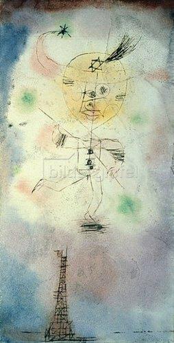Paul Klee: Komet über Paris. 1918.