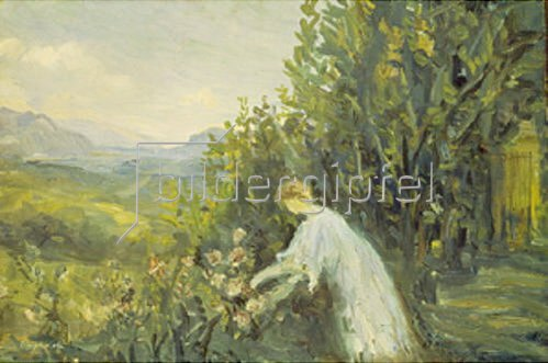 Laprade Pierre: Frau im Garten. 1909/1911.