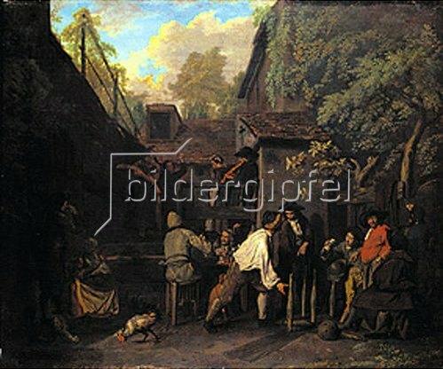 Jan Josef Horemans I.: Kegelspiel