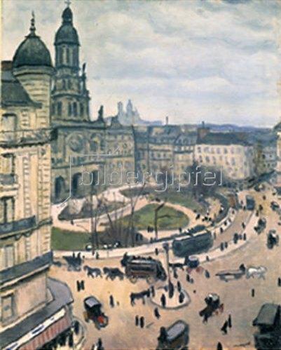 Albert Marquet: Place de la Trinité. Paris. 1911.