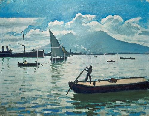 Albert Marquet: Die Bucht von Neapel. 1909.
