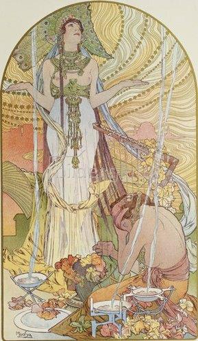 Alfons Mucha: Salambo. 1897