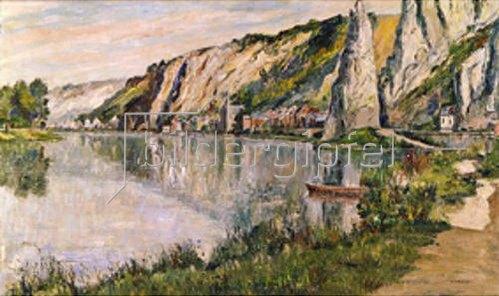 Pierre Thevenet: Flusslandschaft mit Felsen (Bayard).
