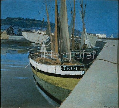 Felix Vallotton: Seehafen. 1901.