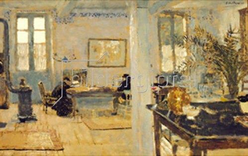 Edouard Vuillard: Interieur. Um 1890.