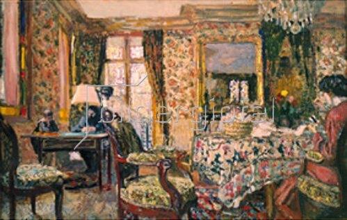 Edouard Vuillard: Interieur. 1904.