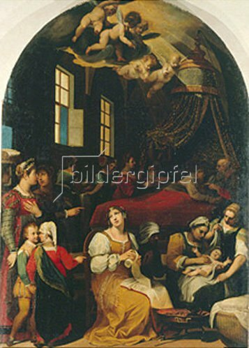 Donato Mascagni: Die Geburt der Maria. 1599.
