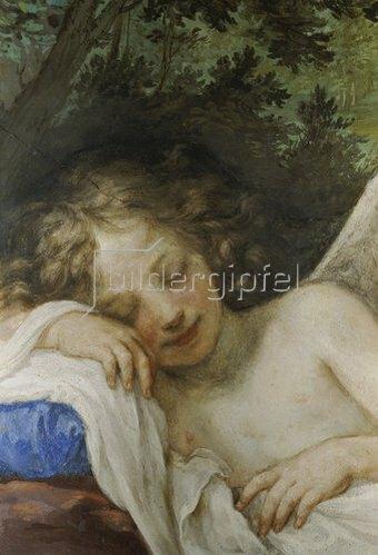 Volterrano (Bald. Franceschini): Schlafender Amor.