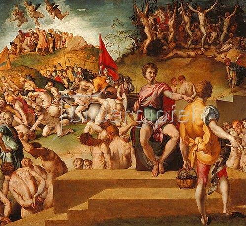 Jacopo Carucci da Pontormo: Das Martyrium der Thebanischen Legion.
