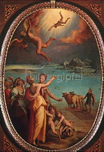 Maso da San Friano (Manzuoli): Der Sturz des Ikarus.