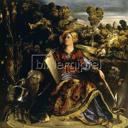 Dosso (Giovanni de Luteri) Dossi: Die Zauberin Circe.