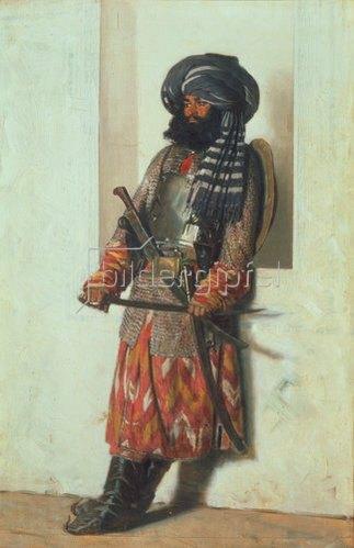 Wassili Werestschagin: Afghanischer Krieger. 1870