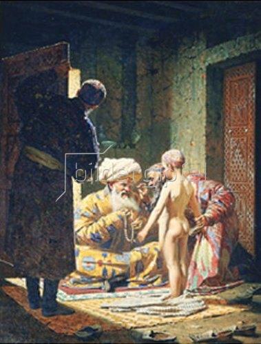 Wassili Werestschagin: Verkauf eines jungen Sklaven. 1871/1872
