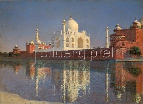 Wassili Werestschagin: Das Mausoleum Tadj-Mahal in Indien. 1874/1876