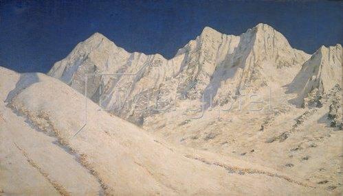 Wassili Werestschagin: Schneebedeckter Himalaya (Indien)