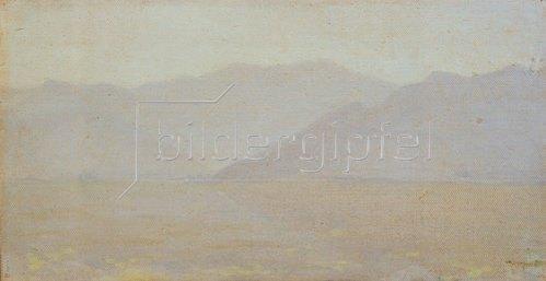 Wassili Werestschagin: Morgenstimmung in Kaschmir. Um 1870