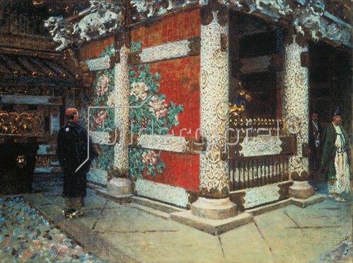 Wassili Werestschagin: Shintoistischer Tempel in Nikko. 1903