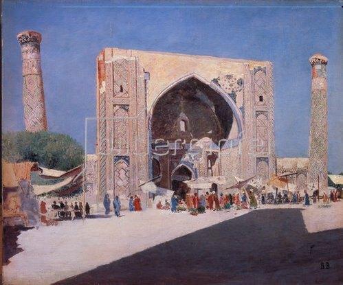 Wassili Werestschagin: Samarkand. 1869/1871