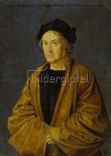 Albrecht Dürer: Bildnis des Vaters.