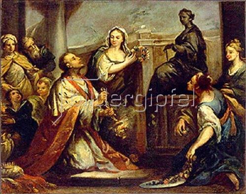 Jacopo Amigoni: Die Götzenanbetung König Salomos. Um 1739