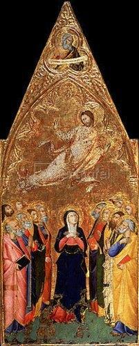 Andrea di Vanni d Andrea: Die Himmelfahrt Jesu. 1355/1360