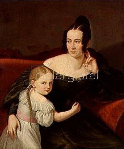 Deutsch: Mutter und Kind.