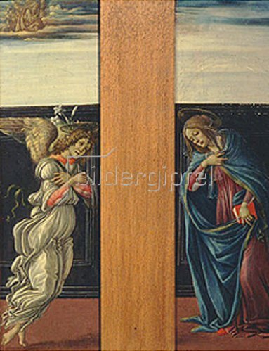 Sandro Botticelli: Die Verkündigung Mariae. 1495/1498.