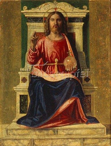 Cima da Conegliano: Thronender Christus (Salvator Mundi). Um 1505